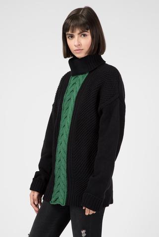 Женский черный свитер Diesel
