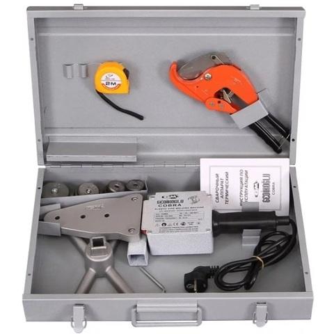 Cobra GM 0008 набор сварочного оборудования Ekonomik 20-40 (75) мм 1500 Вт для полипропиленовых труб