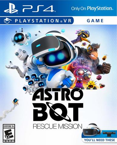 ASTRO BOT Rescue Mission (PS4, только для PS VR, русская версия)