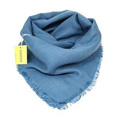 Платок снежно-синий 35