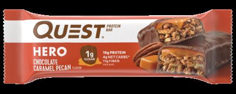 Протеиновый батончик Quest Hero для кето диеты, без углевод, без сахара, без глютена. Шоколад без сахара, вкусняшки, протеиновые