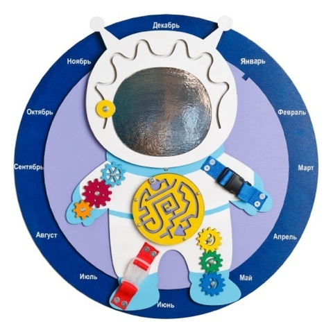 Бизиборд Космонавт 60х60 см