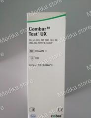11544373191 Тест-полоски Комбур 10 тест UX-Combur 10 Test UX 100 шт/упак для Урисис 1100 (URISYS 1100) Roche Diagnostics