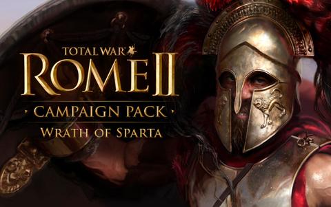 Total War : Rome II - Wrath of Sparta DLC (для ПК, цифровой ключ)