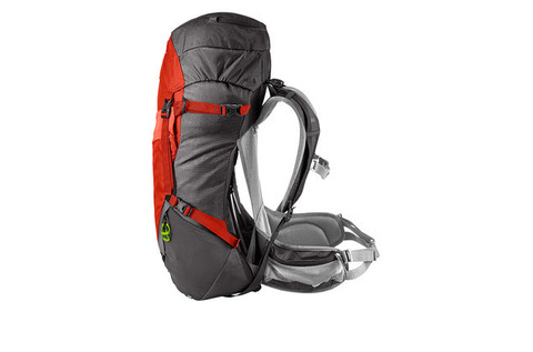 Картинка рюкзак туристический Thule Capstone 40L Тёмно-Серый/Оранжевый - 4