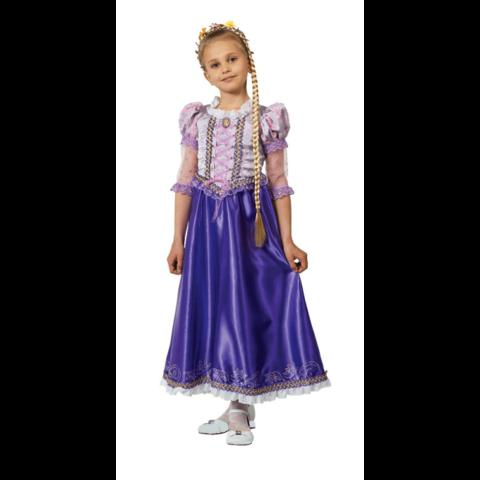 Принцесса Рапунцель с косой