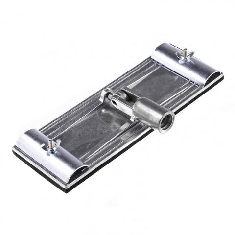 Брусок для шлифования 230 х 80 мм с шарнирным переходником, металлический Matrix