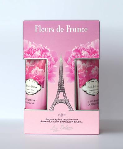 Liv-delano Набор FLEURS DE FRANCE Нежность пиона (крем для рук,гель для ног,спрей для тела)