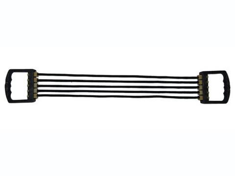 Эспандер плечевой подростковый 5 резинок, пластиковые ручки.