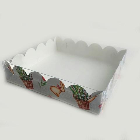 Коробка для печенья и пряников 15*15*3см (пасха)