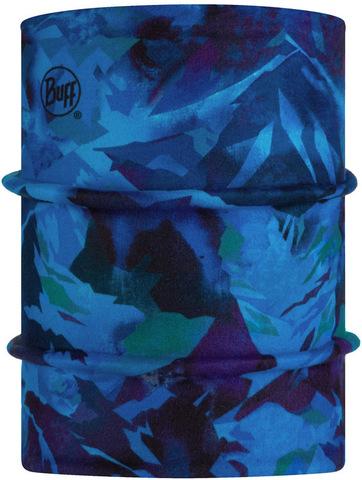 Двойной флисовый шарф-труба детский Buff Neckwarmer Polar Reversible High Mountain Blue фото 1