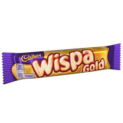 Cadbury Wispa Gold воздушный шоколадный батончик с карамелью 48 гр