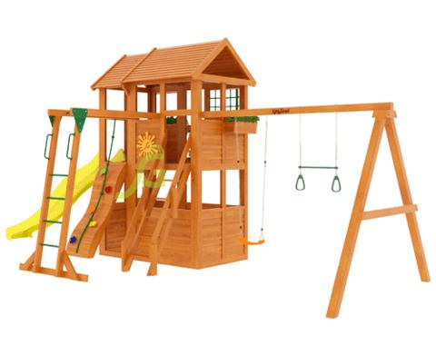 Детская площадка Клубный домик 2 с рукоходом