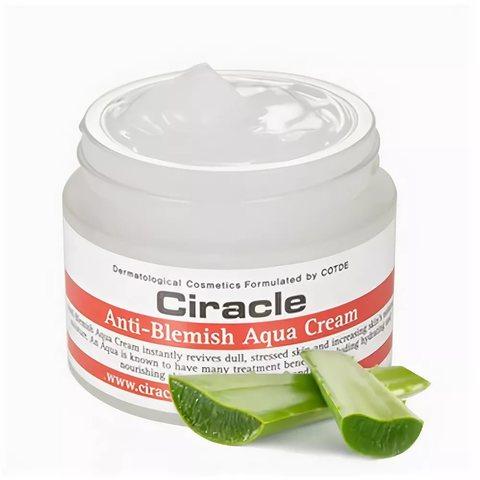 Крем для проблемной кожи лица увлажняющий CIRACLE Anti-Blemish Aqua Cream