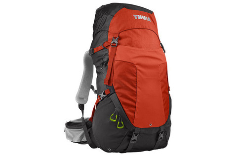 Картинка рюкзак туристический Thule Capstone 40L Тёмно-Серый/Оранжевый - 1