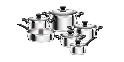 Набор посуды BELLY, 11 предметов, Tescoma