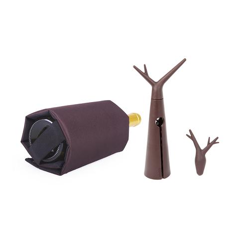 Набор для вина Forest коричневый
