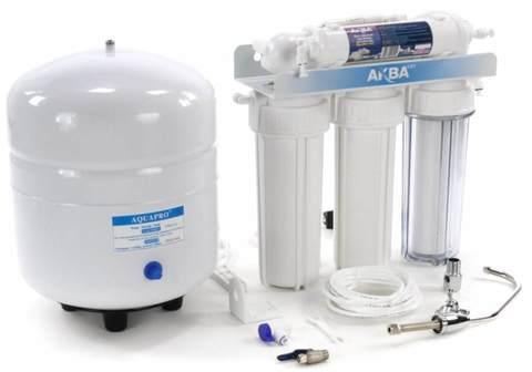 Система водоочистная AquaKit RX-50 B-2 (RO система 5 ступеней)
