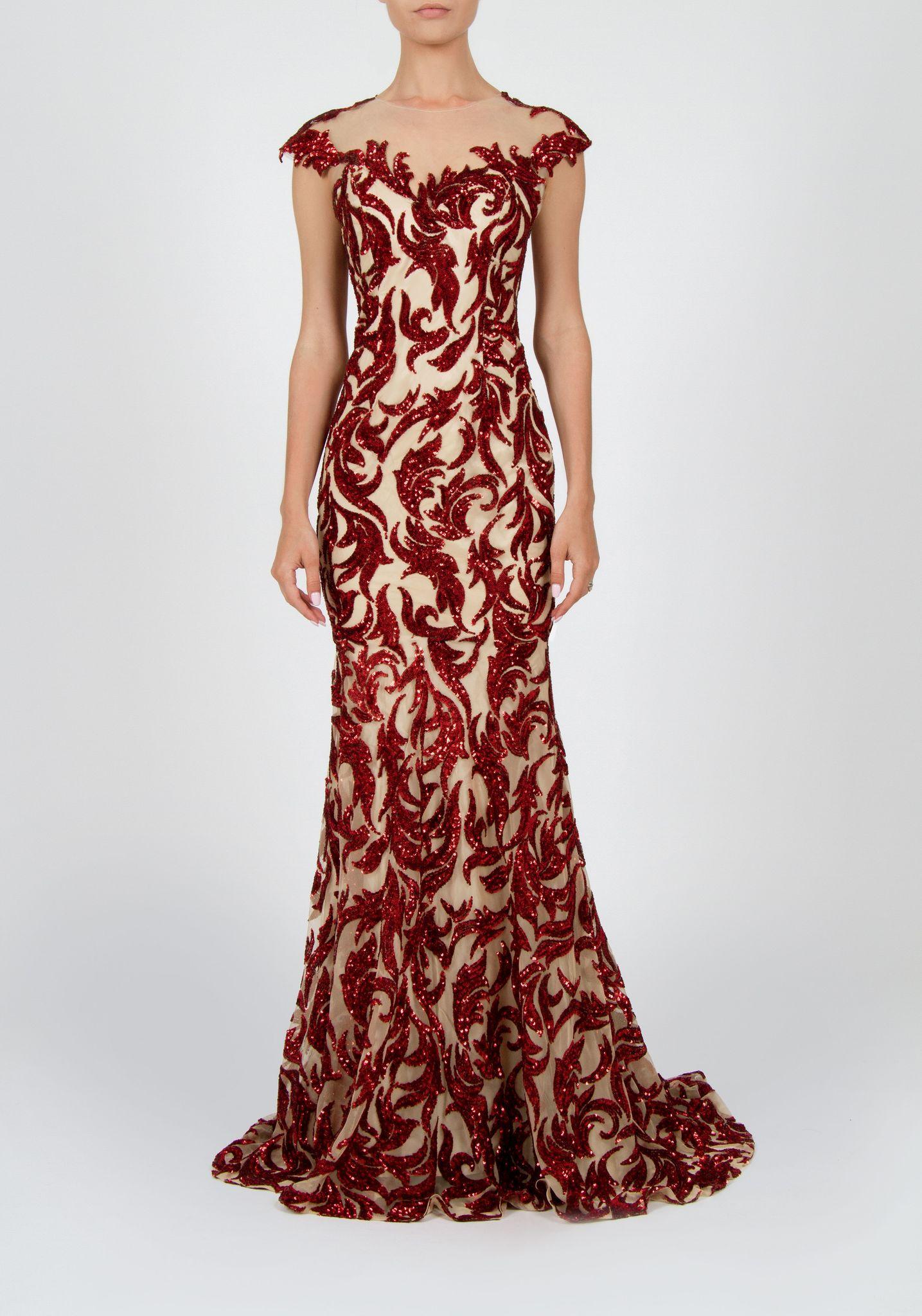 """Вечернее платье """"Flame"""""""