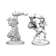 Pathfinder Deep Cuts Unpainted Miniatures - Human Female Cleric