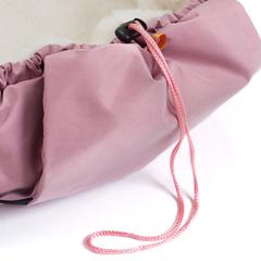 Markus. Меховой конверт Egg Basic, Romantic Pink вид 6
