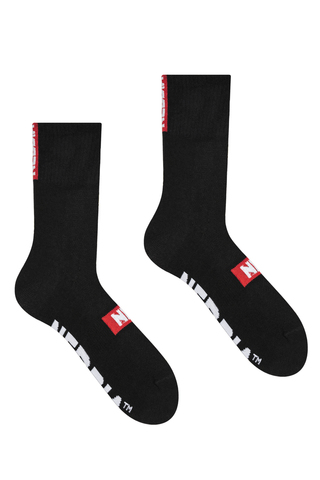 Спортивные носки Nebbia Extra Mile crew socks 103 black