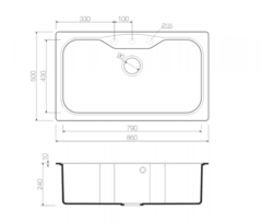 Схема Omoikiri Maru 86-BL