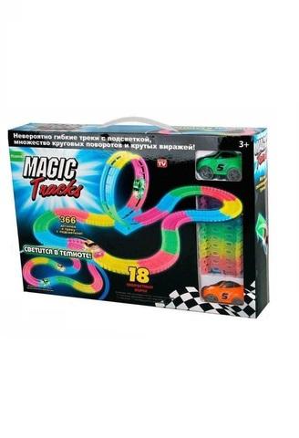 Magic Tracks  - Большая гоночная трасса + Мертвая петля 366 деталей