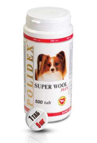 Супер Вул плюс для собак 500 таб.