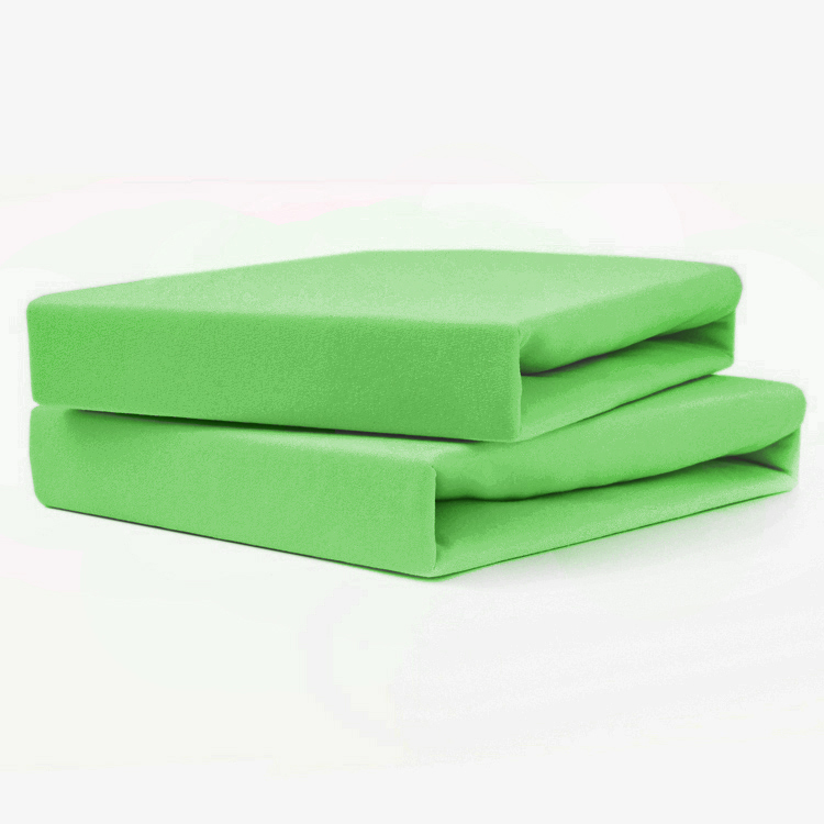 TUTTI FRUTTI лайм - Двуспальная простыня на резинке