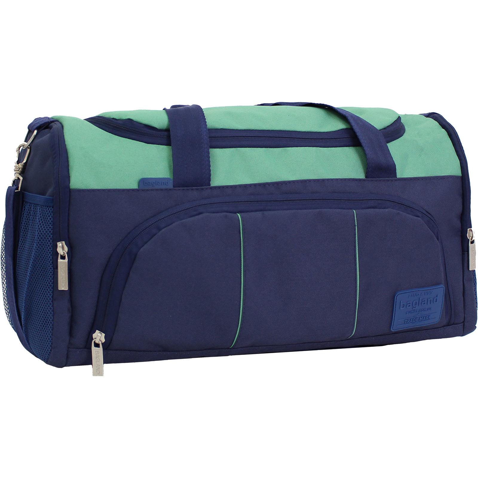 Спортивные сумки Сумка Bagland Bloom 30 л. чернильный/зеленый (0030866) IMG_9530.JPG