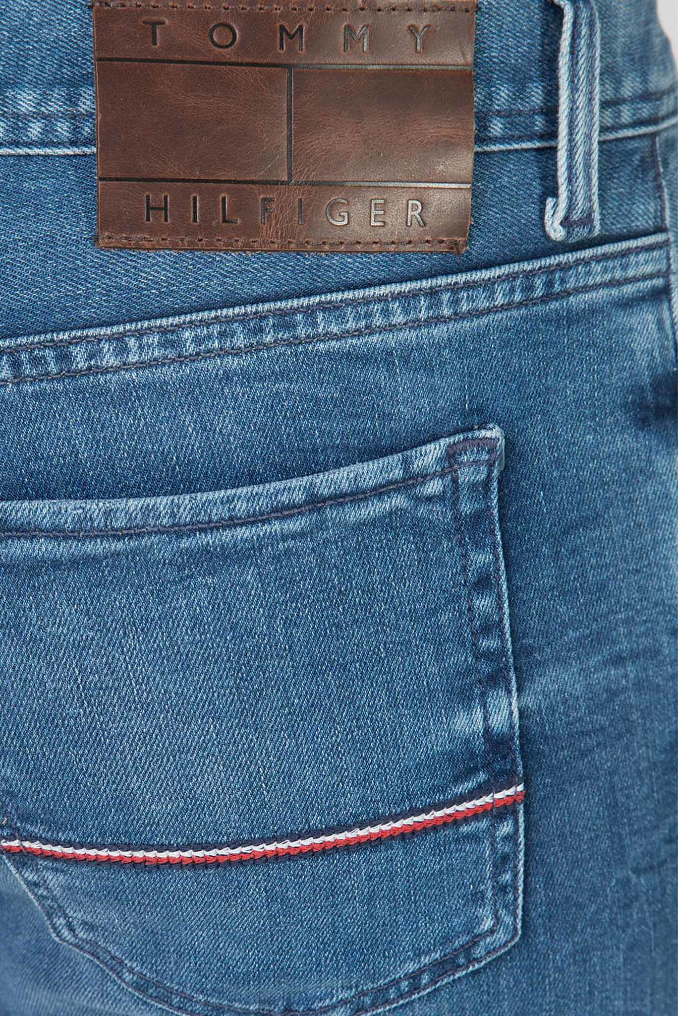 Мужские синие джинсы SLIM BLEECKER PSTR PORTAL BLUE Tommy Hilfiger