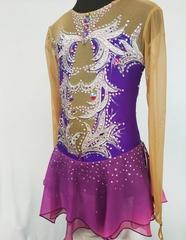 Платье на выступление для фигурного катания Клементина