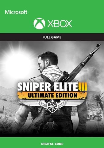 Sniper Elite 3 ULTIMATE EDITION (Xbox, цифровой ключ, английская версия)