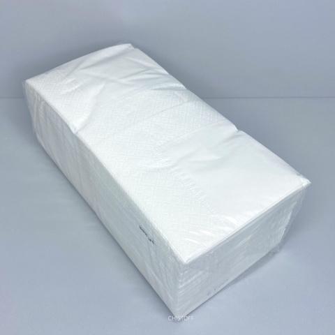 Салфетки 24х24 см 2сл. Fesko (200 шт.) белые (p0059)