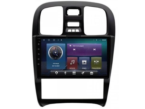 Магнитола для Hyundai Sonata (02-07) Android 10 4/64GB IPS DSP 4G модель CB-2350TS10