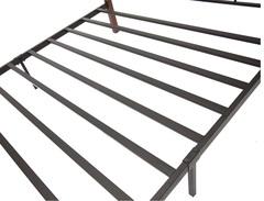 Кровать Канцона 200x140 (Canzona FD 881) Черный/Красный дуб