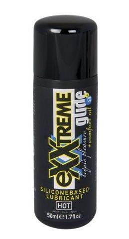 Смазка  на силиконовой основе для анального секса Exxtreme Glide - 50 мл.