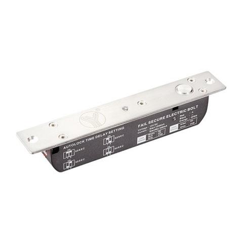 YB-700А(LED)  Электроригельный замок cо световой индикацией, датчиком состояния двери и таймером задержки YLI ELECTRONIC