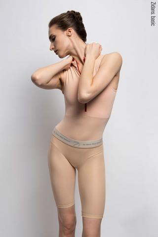 Translucent Ziphirus velo leggings Zold | beige