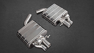 Capristo exhaust system for Audi RS7 Sportback