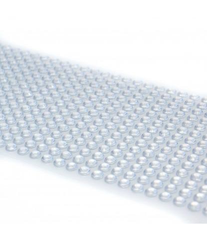 Стразы серебряные 5мм длинные