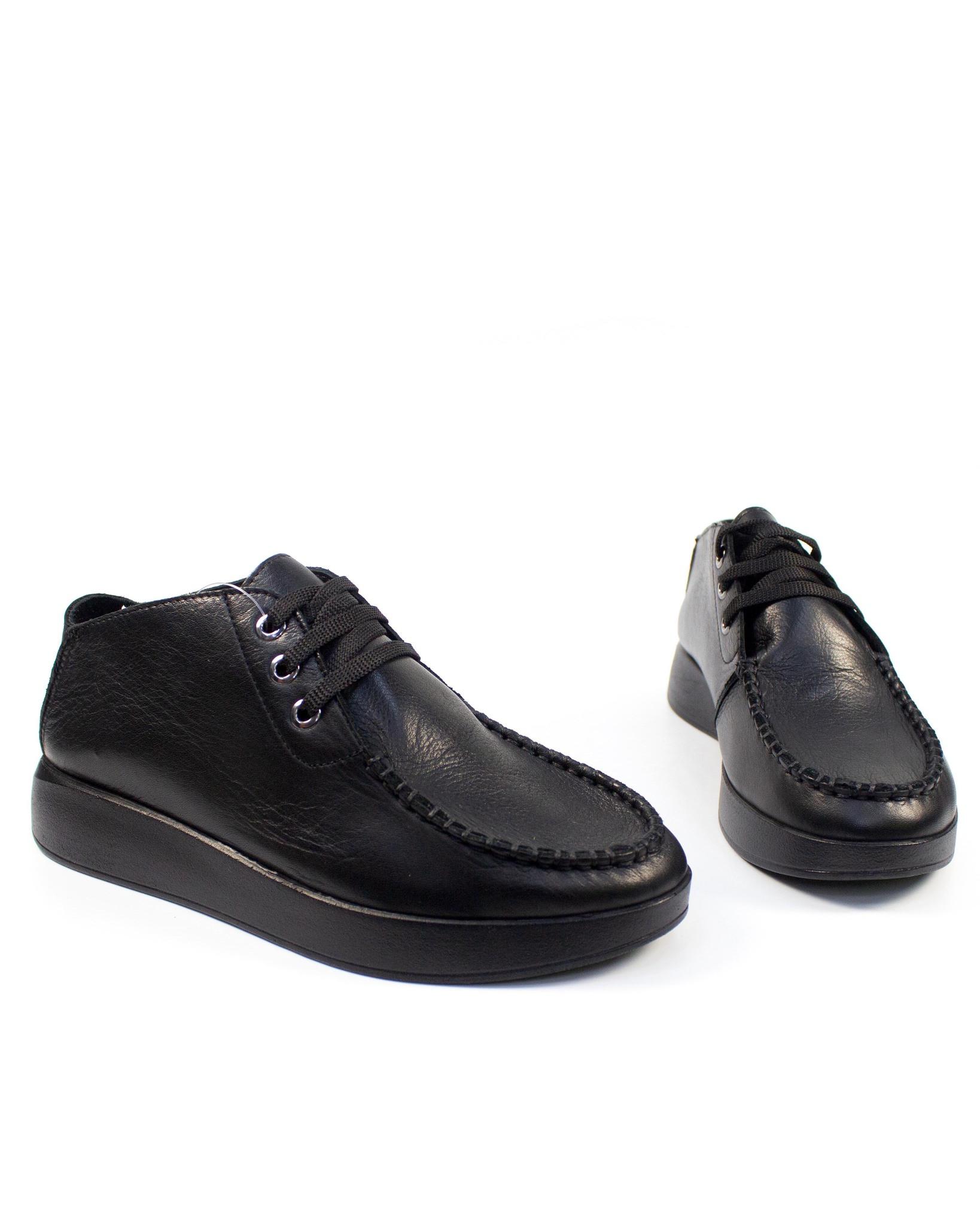 черные туфли SM
