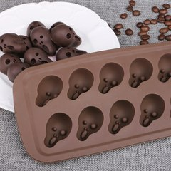 Силиконовая форма для шоколада