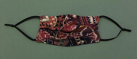 Многоразовая маска для лица с индейским орнаментом