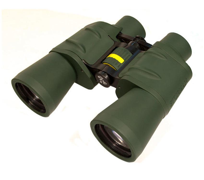 Бинокль Sturman 10x50 с сеткой зелёный - фото