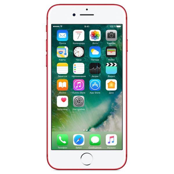 Apple iPhone 7 128GB Red (Ростест)
