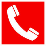 F05 знак пожарной безопасности «Телефон для использования при пожаре»