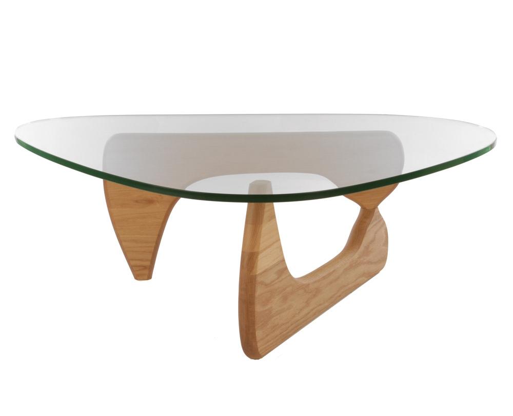 Стол журнальный Isamu Noguchi Style Coffee Table орех - вид 1