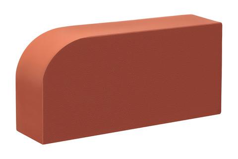 Полнотелый кирпич радиальный красный 250×120×65 мм